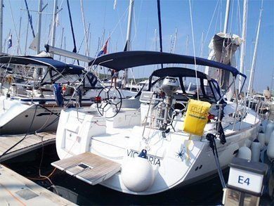 Charter sailboat Sun Odyssey 439 in  -