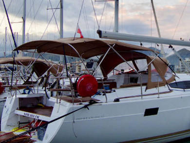 Rental sailboat Elan 50 Impression in Port de Pollensa - Majorca (Balearic Islands)