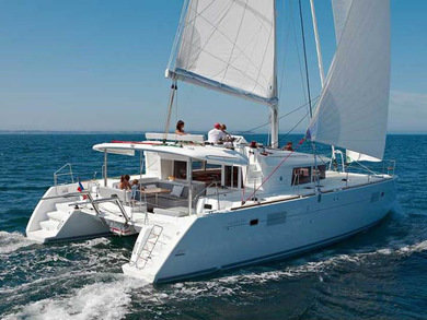 Charter catamaran Lagoon 450 3 in Phuket city - Phuket
