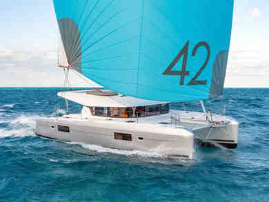 Rental catamaran Lagoon 42 in East End - Tortola