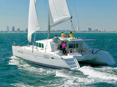 Charter catamaran Lagoon 440 in  -