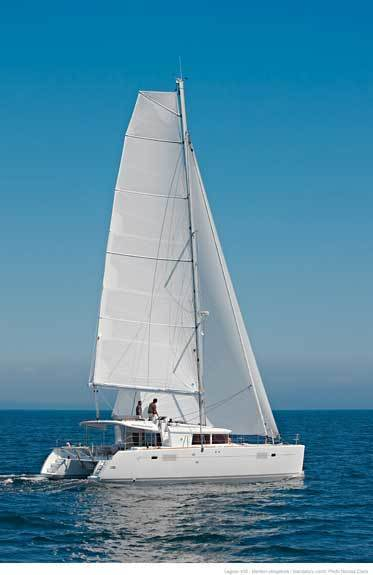 Hire catamaran Lagoon 450 in Olbia city - Olbia-Tempio (Sardinia)