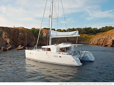 Rental catamaran Lagoon 450 in Portisco - Olbia-Tempio (Sardinia)