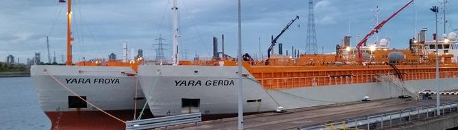 Yara Gerda and Yara Froya