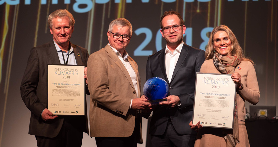 Yara Birkeland Prize ceremony