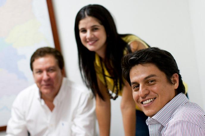 Yara employees in a meeting