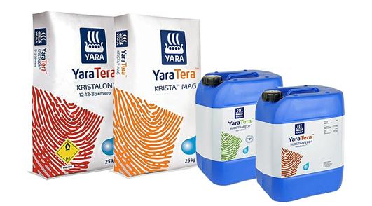 YaraTera Substrafeed - vloeibare glastuinbouwmeststoffen