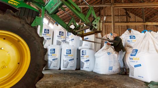 Opslag van meststoffen