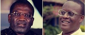Dr. Ousmane Badiane (left) and Eric Kaduru (right)