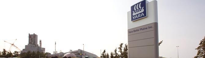Yara Belle Plaine, Canada