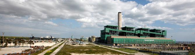 NOx abatement at a powerplant