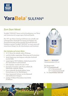 YaraBela SULFAN Leaflet