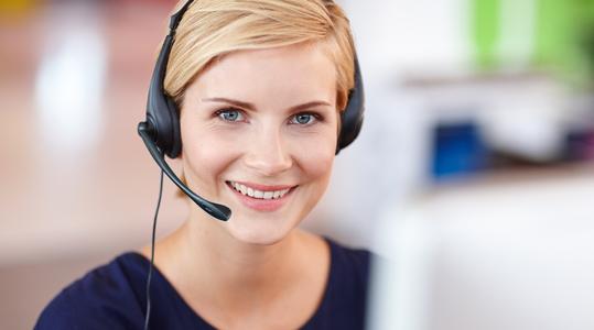 Ethics hotline female operator