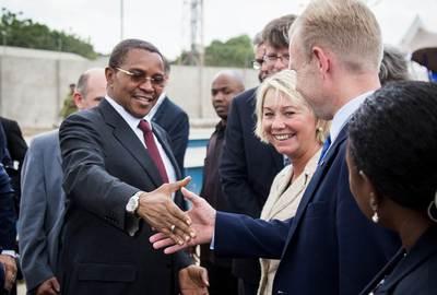 Tanzania President and Yara CEO