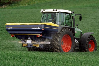 Fertilizer Spreading Advice - Bogballe Spreader