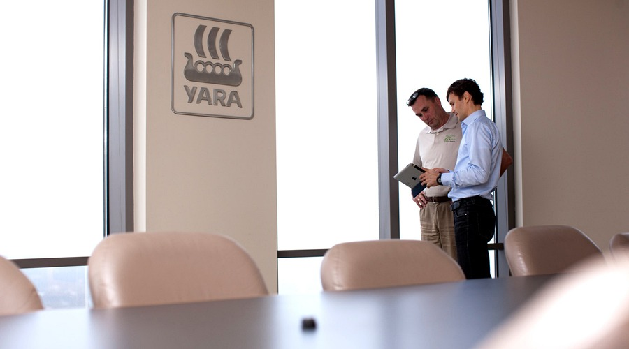 Working at Yara