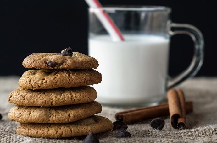 Kakor med mjölk