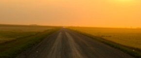 Climate change - sun in desert