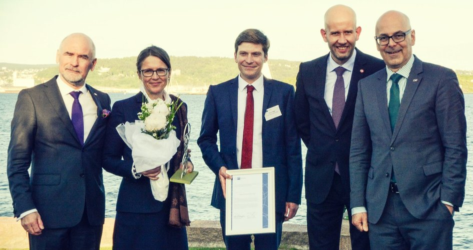 Norwegian German Business Prize 2015 recipients