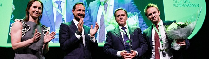 Innovation Norway's 'Entrepreneur of the Year 2014' award
