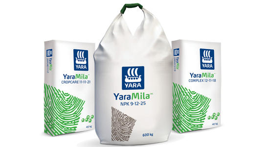 YaraMila - Összetett granulált műtrágyacsalád