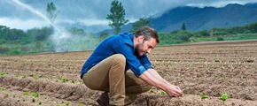 Fertigation in Argentina - Climate smart agriculture