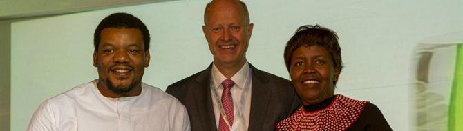 Jørgen Ole Haslestad and Yara Prize Laureates 2013