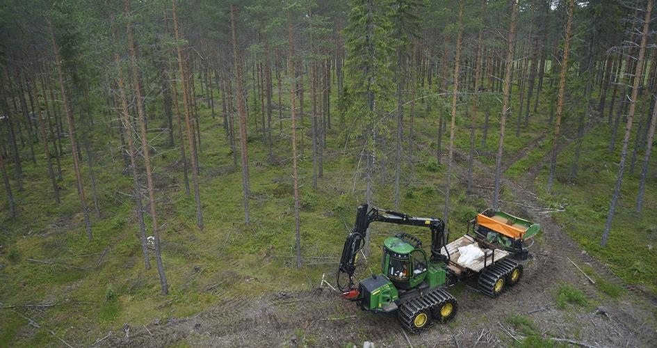 Metsänlannoitus Keuruulla