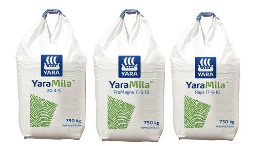 YlaraMila produktfamilj
