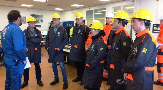 Investor Day at Yara Sluiskil in 2017
