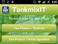 Yara TankmixIT app