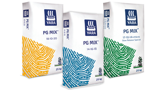 Yara PG Mix substrate fertilisers