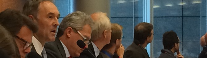 Yves Bonte in the EU parliament