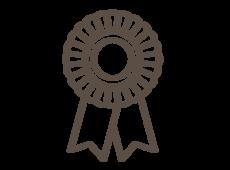 Training rosette icon