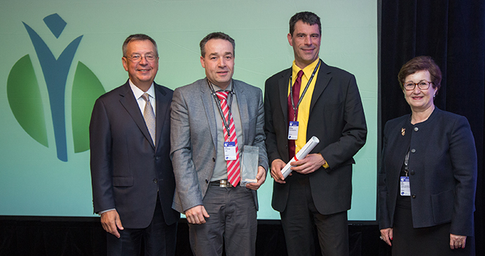 IFA Green Leaf Award 2015 for Yara Brunsbüttel