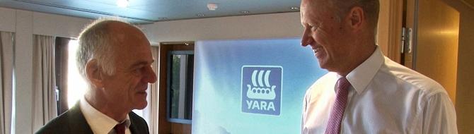 Dr. David Nabarro visits Yara