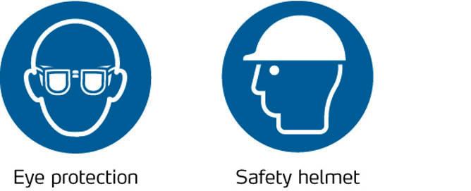 Oogbescherming Veiligheidshelm