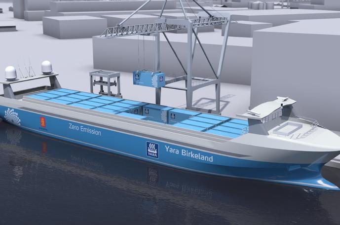 Yara Birkeland vessel