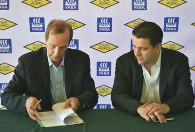 Yara and CISA Agro distribution agreement