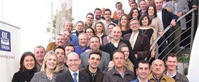 Yara staff in Almeria