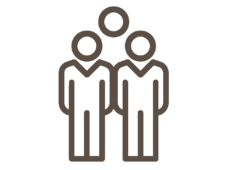 Group of employees icon