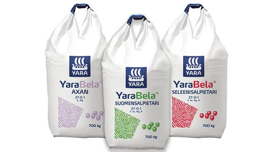 YaraBela-typpilannoitteet