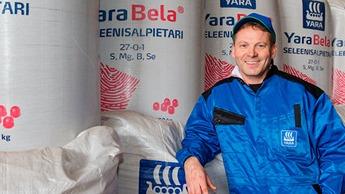 Mikko Elovaara luottaa Yaran lannoiteratkaisuihin.