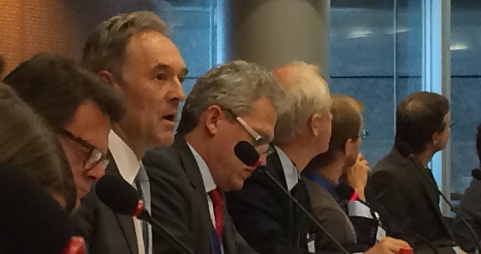 Yves Bonte in the EU Parliament