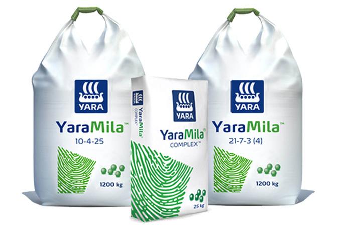 YaraMila - Compound NPKS fertilisers