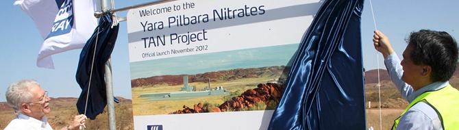 Yara Pilbara Nitrates