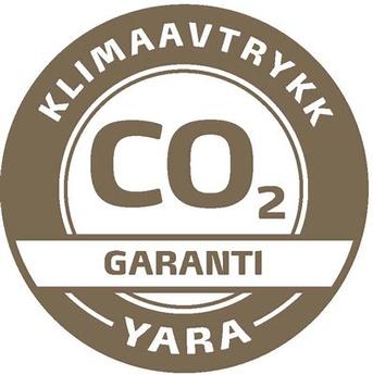 Yara klimaavtrykk garanti