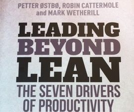 Leading Beyond Lean book cover