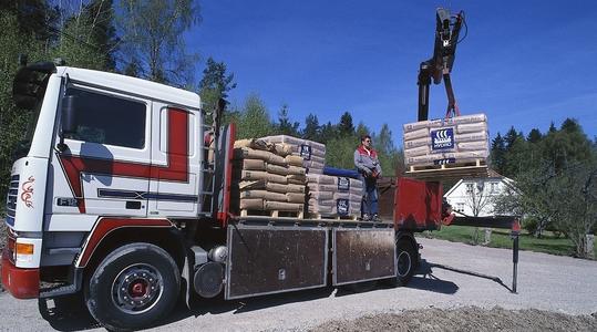 A műtrágya mozgatása és szállítása