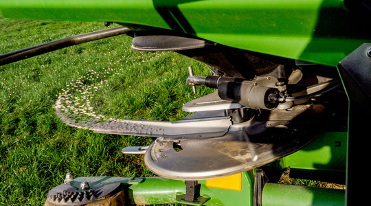 Find the settings for your fertiliser spreader
